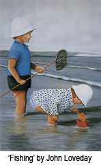 'Fishing' by John Loveday